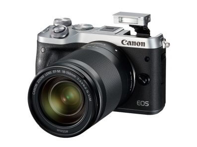 Canon EOS M6 Mirrorless Digital Camera with 18-150mm Lens Silver