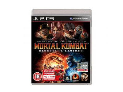 PS3 Mortal Kombat Complete Edition