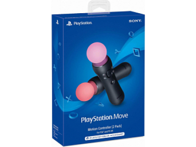 Sony PS4 Move Controller Black (2-Pack)
