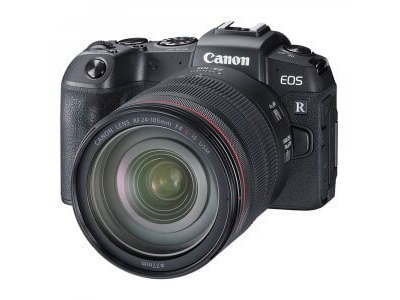 Canon EOS RP with RF 24-105mm f/4.0 L IS USM Lens and Mount Adapter