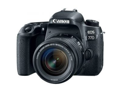 Canon EOS 77D DSLR EF-S 18-135mm f/3.5-5.6 IS USM Kit