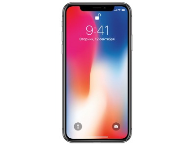 Mobil telefon Apple iPhone X 64 Gb qara