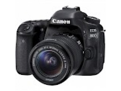 Canon EOS 80D DSLR kit 18-55mm