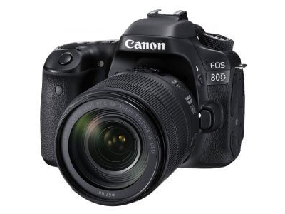 Canon EOS 80D DSLR Camera with EF-S 18-135mm f/3.5-5.6 IS USM Lens Kit