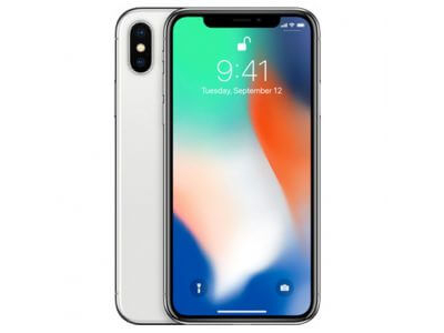 Apple iPhone X 64Gb 4G LTE Silver FaceTime