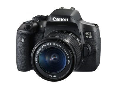 Canon EOS 750D Kit with 18-55mm IS STM Lens
