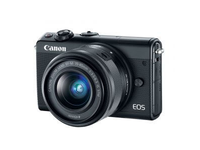 Canon EOS M100 Mirrorless Digital Camera with 15-45mm Lens Black