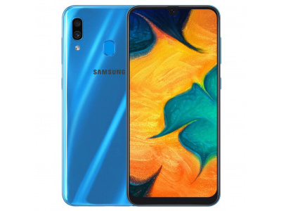 Samsung Galaxy A30 3-32GB Mavi
